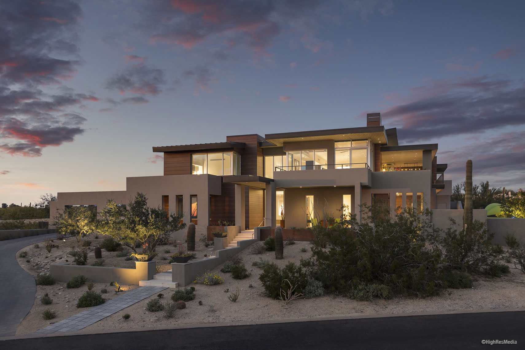 Residential Architecture | Paradise Valley Arizona | Dale Gardon Design